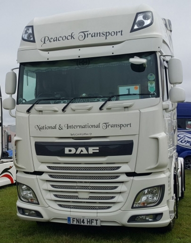 Peacock Transport DAF Truckfest 2019
