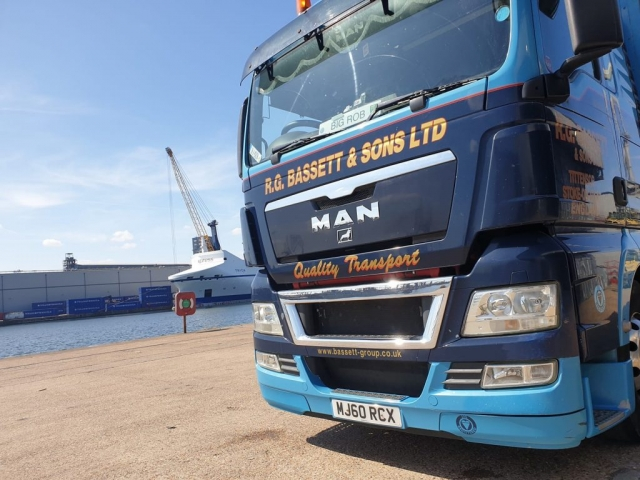 R.G. Bassett and Sons Ltd MAN at the Docks