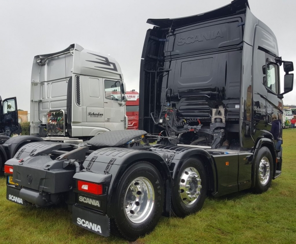 Richardson Scania S500 Rear View Truckfest 2019
