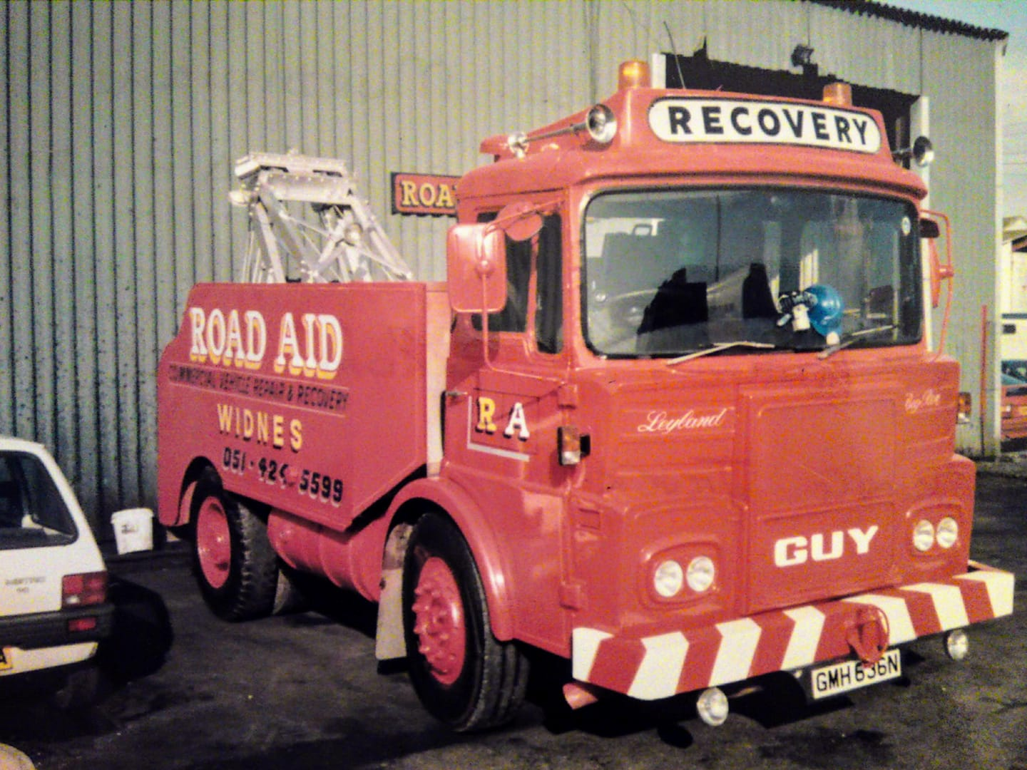 Road Aid Widnes Leyland GUY Recovery Truck