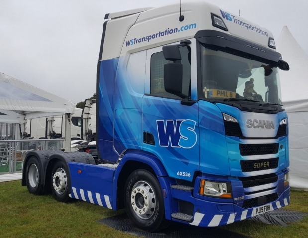WS Transport Scania R450 Super Truckfest 2019