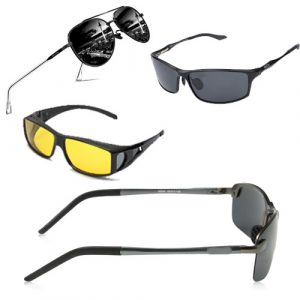Driving glasses for truck drivers