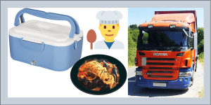 24V Truck Food Heating Lunch Box