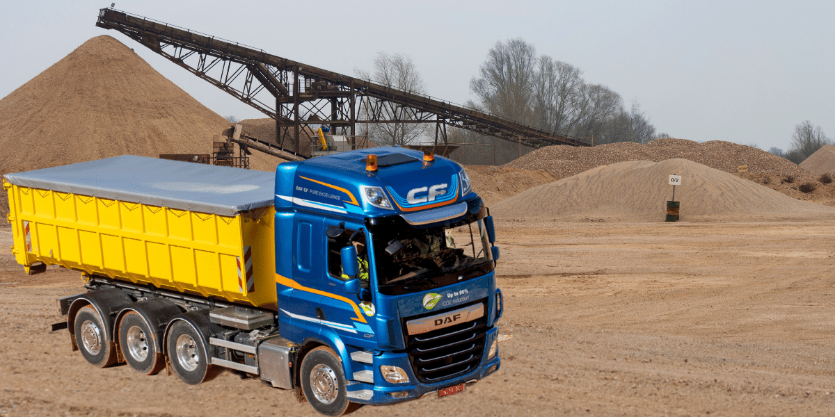 DAF FAW 8X4 Tridem Truck Perfect for UK Construction Work