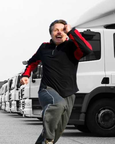 why do truck drivers quit UK