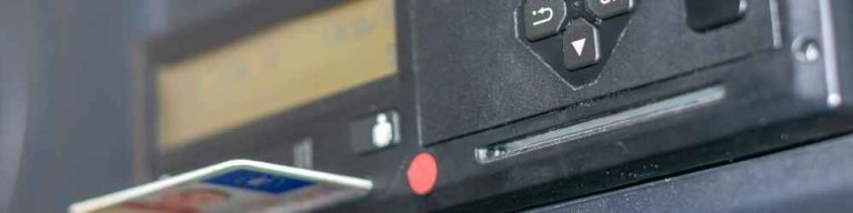 How to change HGV tachograph time