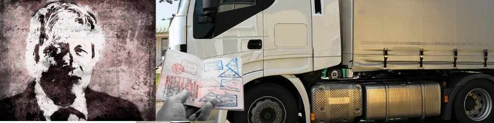 Temporary visas for foreign truck drivers