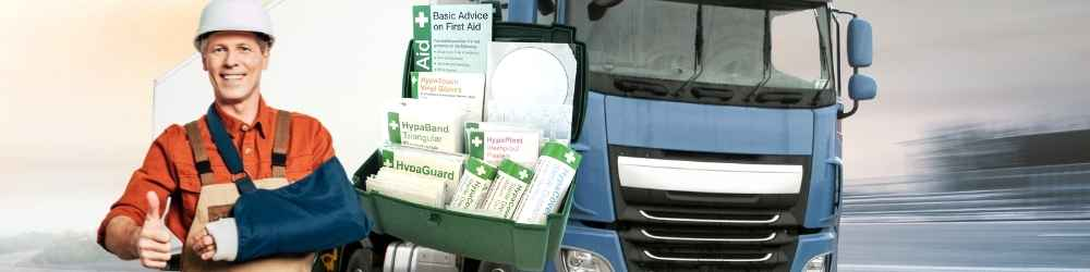 Vehicle first aid kit best for trucking