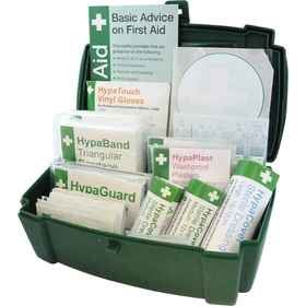 Vehicle first aid kit contents